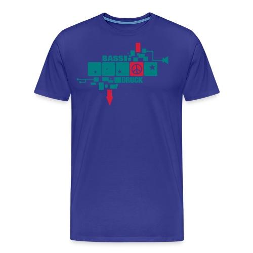 peace in a row - Männer Premium T-Shirt