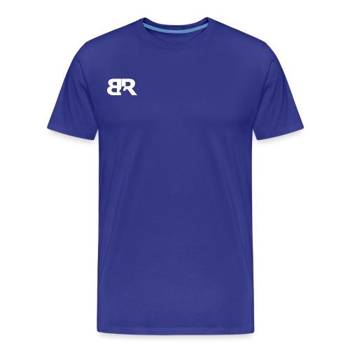 BR LOgo voor op truien png - Mannen Premium T-shirt