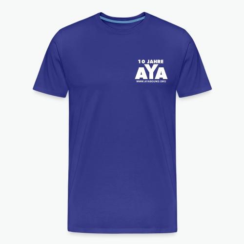 aya 10 jahre vorne - Männer Premium T-Shirt