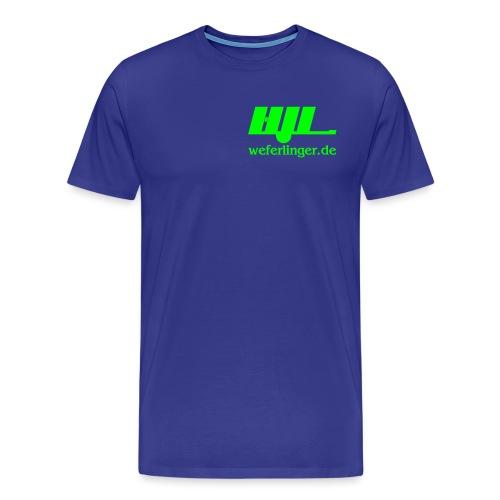 Weferlinger - Männer Premium T-Shirt