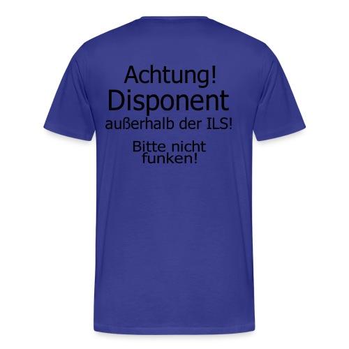 Bitte nicht Funken - Männer Premium T-Shirt