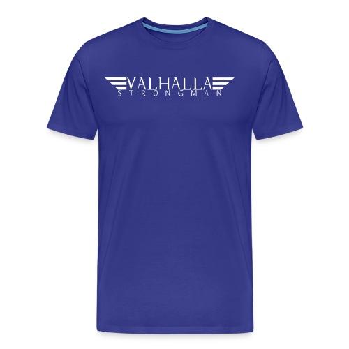 strongman logo vector - Men's Premium T-Shirt