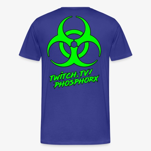twitch phosphorx hinten - Männer Premium T-Shirt