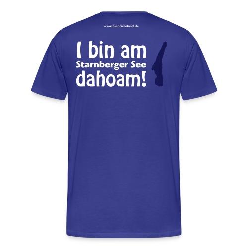 sta dahoam vektor - Männer Premium T-Shirt