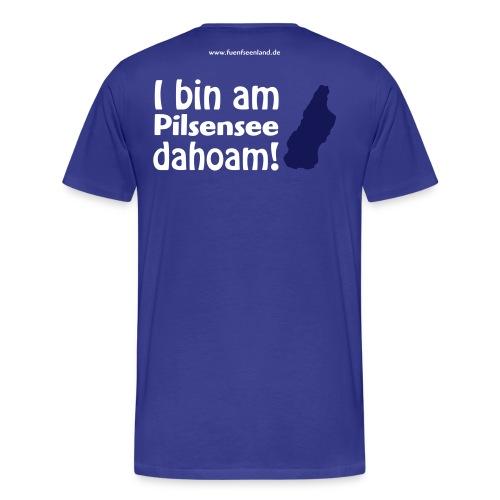 PIL dahoam vektor - Männer Premium T-Shirt