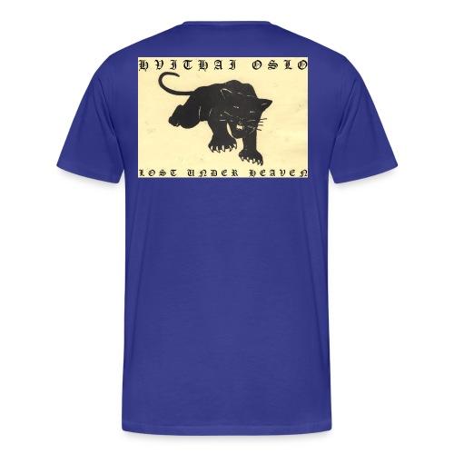LOST UNDER HEAVEN - Premium T-skjorte for menn