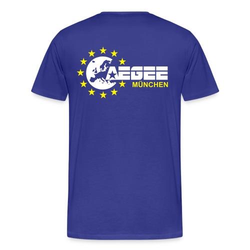 aegeemuenchenvector - Männer Premium T-Shirt