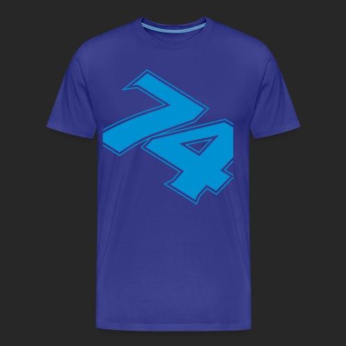 slanted - Premium-T-shirt herr