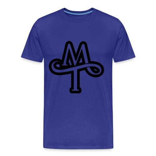 mt outline - Men's Premium T-Shirt