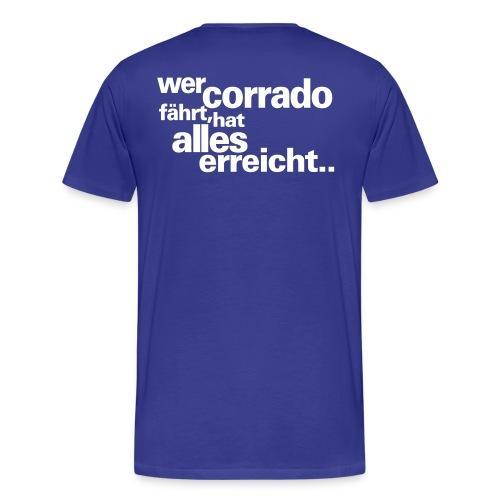 wer corrado faehrt - Männer Premium T-Shirt