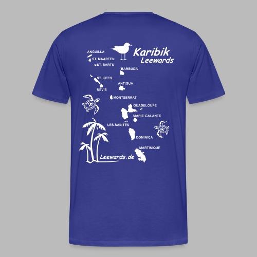 Karibik Leewards Segeln Leward Islands - Männer Premium T-Shirt