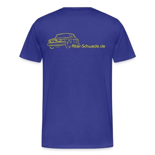 volvo 240 zeichnung - Männer Premium T-Shirt