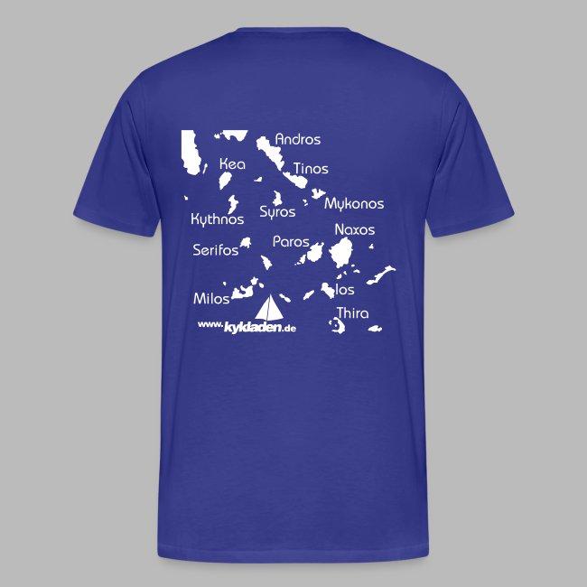 Kykladen Griechenland Crewshirt