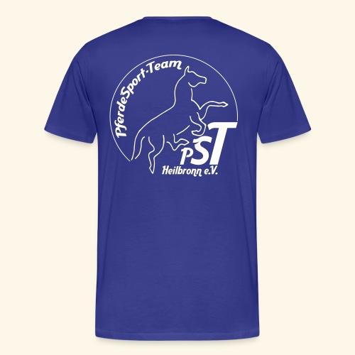 logo pst kontur - Männer Premium T-Shirt