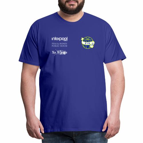 eik_logo_21x21cm_Red - Premium-T-shirt herr