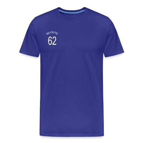 foot biloute 62 bleu trans - T-shirt Premium Homme