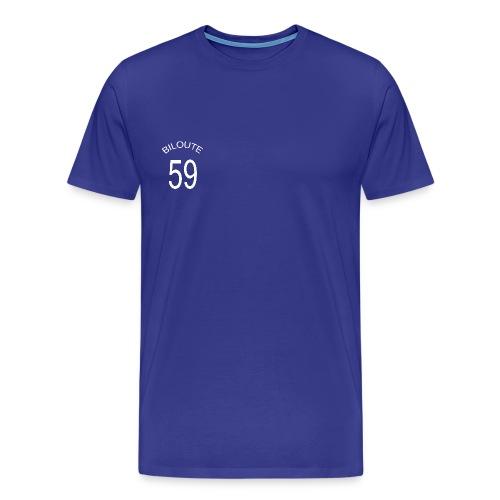 foot biloute 59 bleu trans - T-shirt Premium Homme