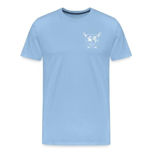logo miekallinen vastaväri - Miesten premium t-paita