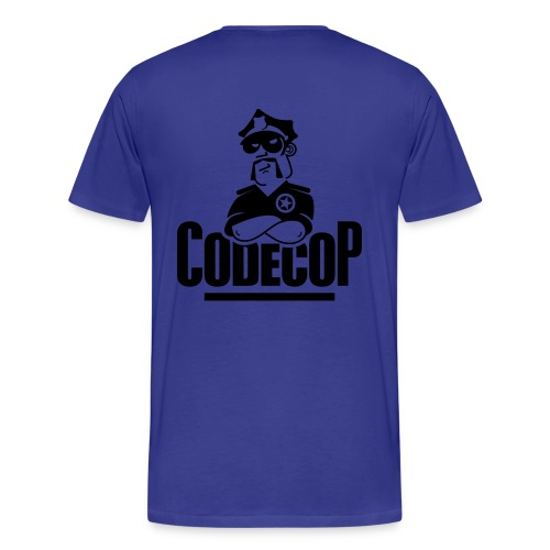 c0d3c0p Basis - Men's Premium T-Shirt