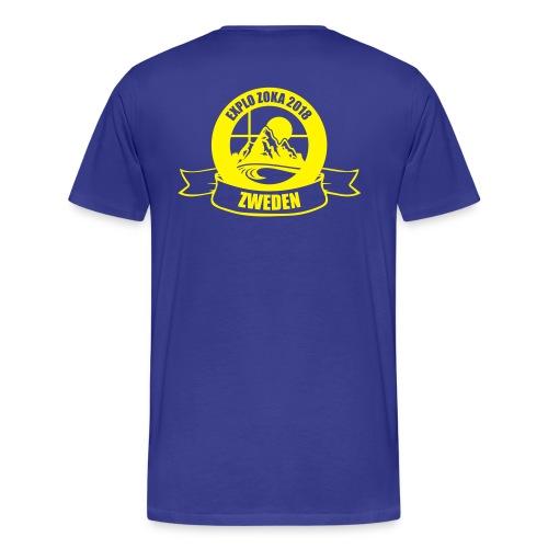 ZOKA Zweden - Mannen Premium T-shirt