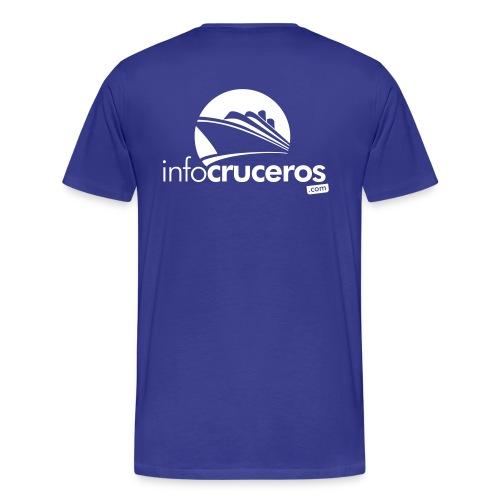 logo pecho sinclaim v11 - Camiseta premium hombre