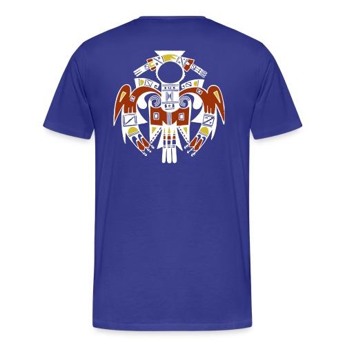 Homme oiseau amérindien - T-shirt Premium Homme