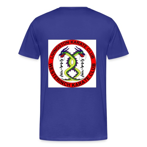 both logo gif - Men's Premium T-Shirt