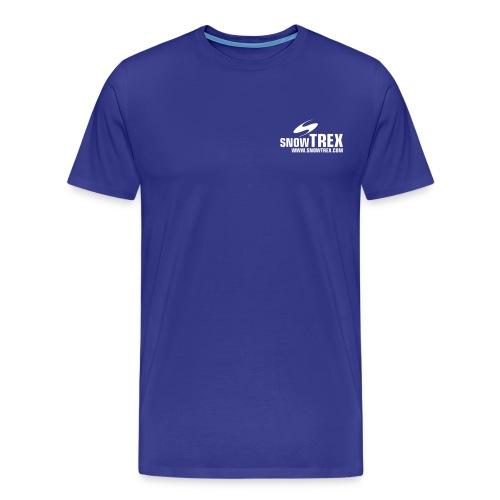 snowtrex weiss - Männer Premium T-Shirt