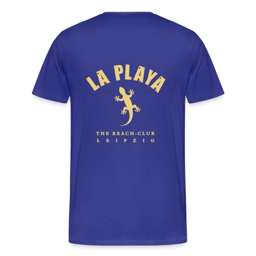 LA PLAYA Gecko backprint Strand Shop - Männer Premium T-Shirt