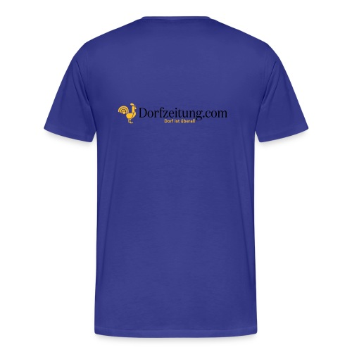 Dorfzeitung.com - Männer Premium T-Shirt