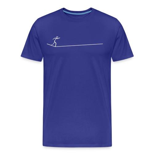 slacklinelongline - Männer Premium T-Shirt