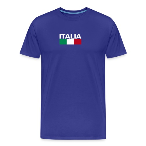 Italia Italy flag - Men's Premium T-Shirt