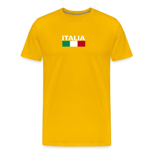 Italia Italy flag - Men's Premium T-Shirt