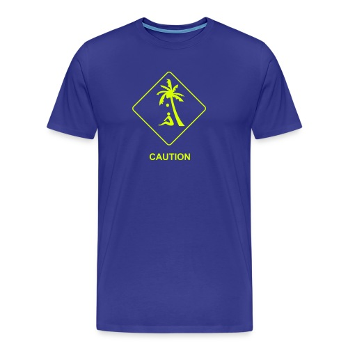 Coconut Caution Strand Shop - Männer Premium T-Shirt