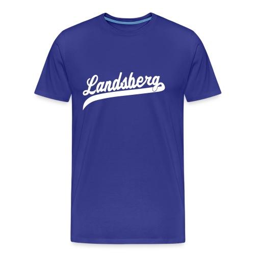 logolandsbergvt - Männer Premium T-Shirt