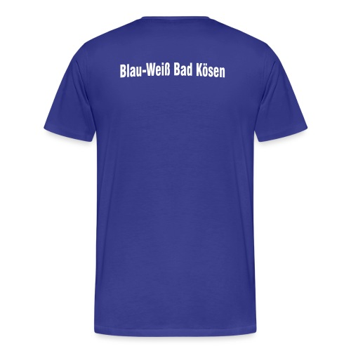 vereinsnamehalbrund - Männer Premium T-Shirt