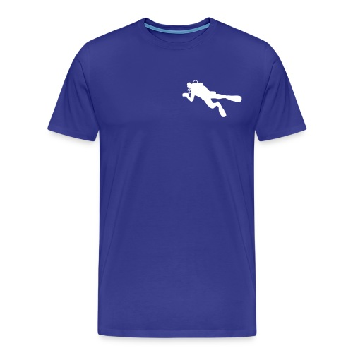 taucher solo - Männer Premium T-Shirt