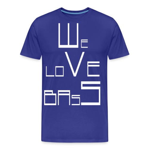 welovebass02 - Männer Premium T-Shirt