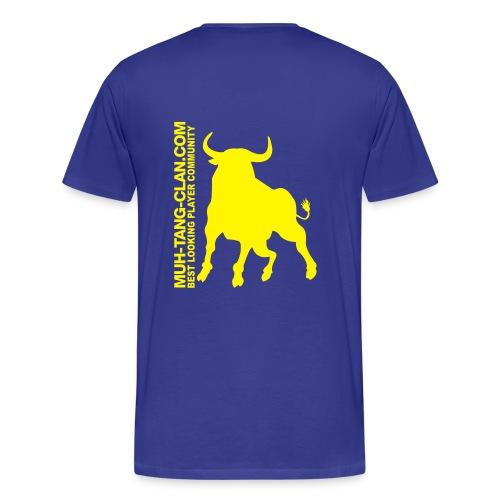 muhstierlogo - Männer Premium T-Shirt