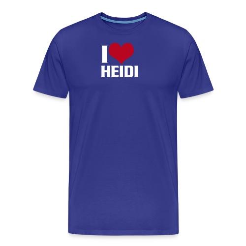 iloveheidi - Männer Premium T-Shirt