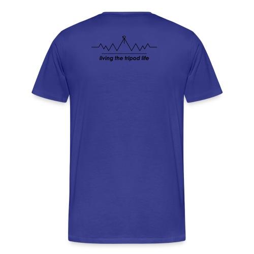 Tripod Life - Männer Premium T-Shirt