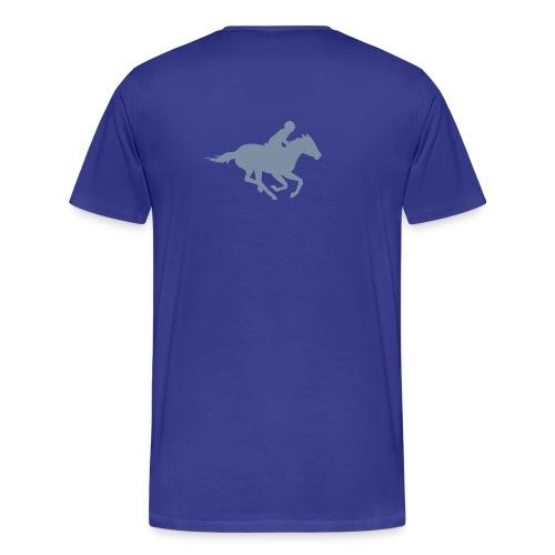ratsastaja - Miesten premium t-paita