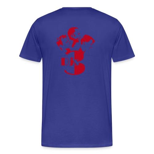 3djs logo - Männer Premium T-Shirt