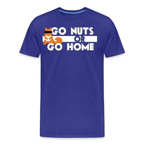shirt nuts umgekehrt 2 png - Männer Premium T-Shirt