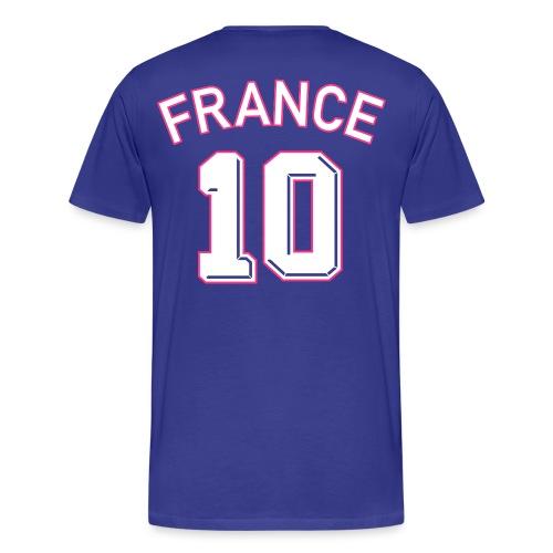 Maillot numéro 10 FRANCE - T-shirt Premium Homme