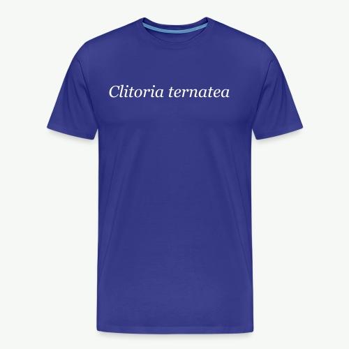 Clitoria 001 - Men's Premium T-Shirt