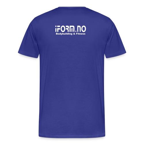 iform no - Premium T-skjorte for menn
