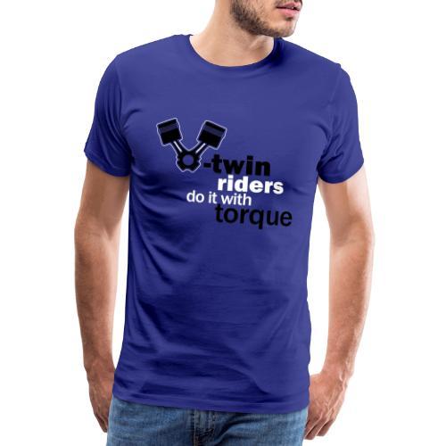 vtwin riders - Men's Premium T-Shirt