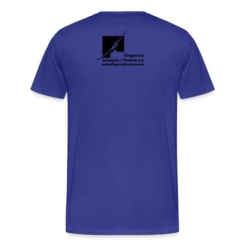 Logo Fliegerclub Schwerin Pinnow (web) - Männer Premium T-Shirt