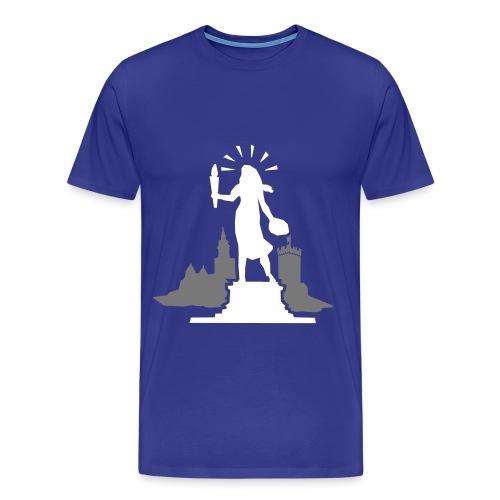 Statue of HNX - Männer Premium T-Shirt